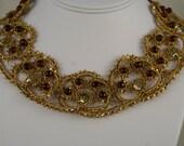 Red Garnet Necklace   10946