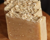 RESERVED for Greentea -  THREE bars of  Honey Almond Oatmeal Homemade Soap, All Natural