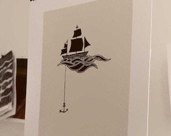 Anchored Ship Digital License