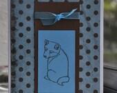 Precious Shiba Inu Puppy Thinking of You Card