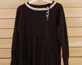 Cashmere Children's Sweater Chocolate Size 5 (Myna Series)