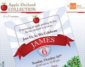 Apple Orchard Invitation - Apple Picking Birthday Party DIY Printable - Do-It-Yourself - Fall Harvest