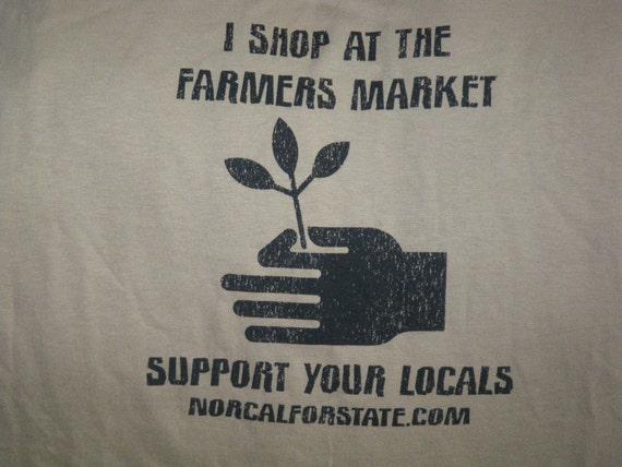 I shop at the Farmers Market T-shirt