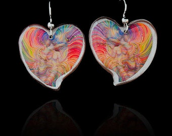 Soulmate Energy Earrings by Julia Watkins - Soulmate Jewelry