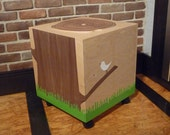 Toy Storage Box Chest Trunk, Organizers for Baby Toys, For Kids Room  Baby Nursery, and of nod style Tree Stump