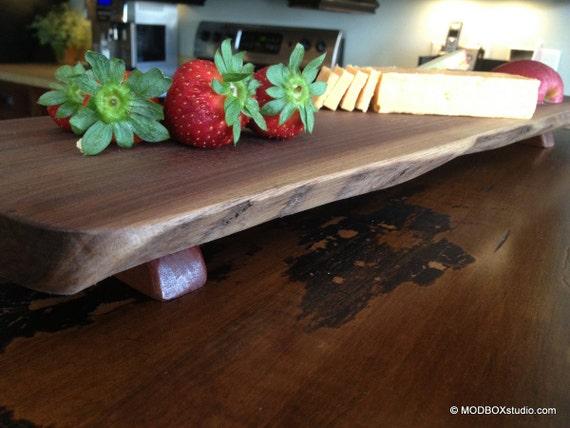 Cutting Board Walnut Wood Cheese Tray Bread Board Serving Tray