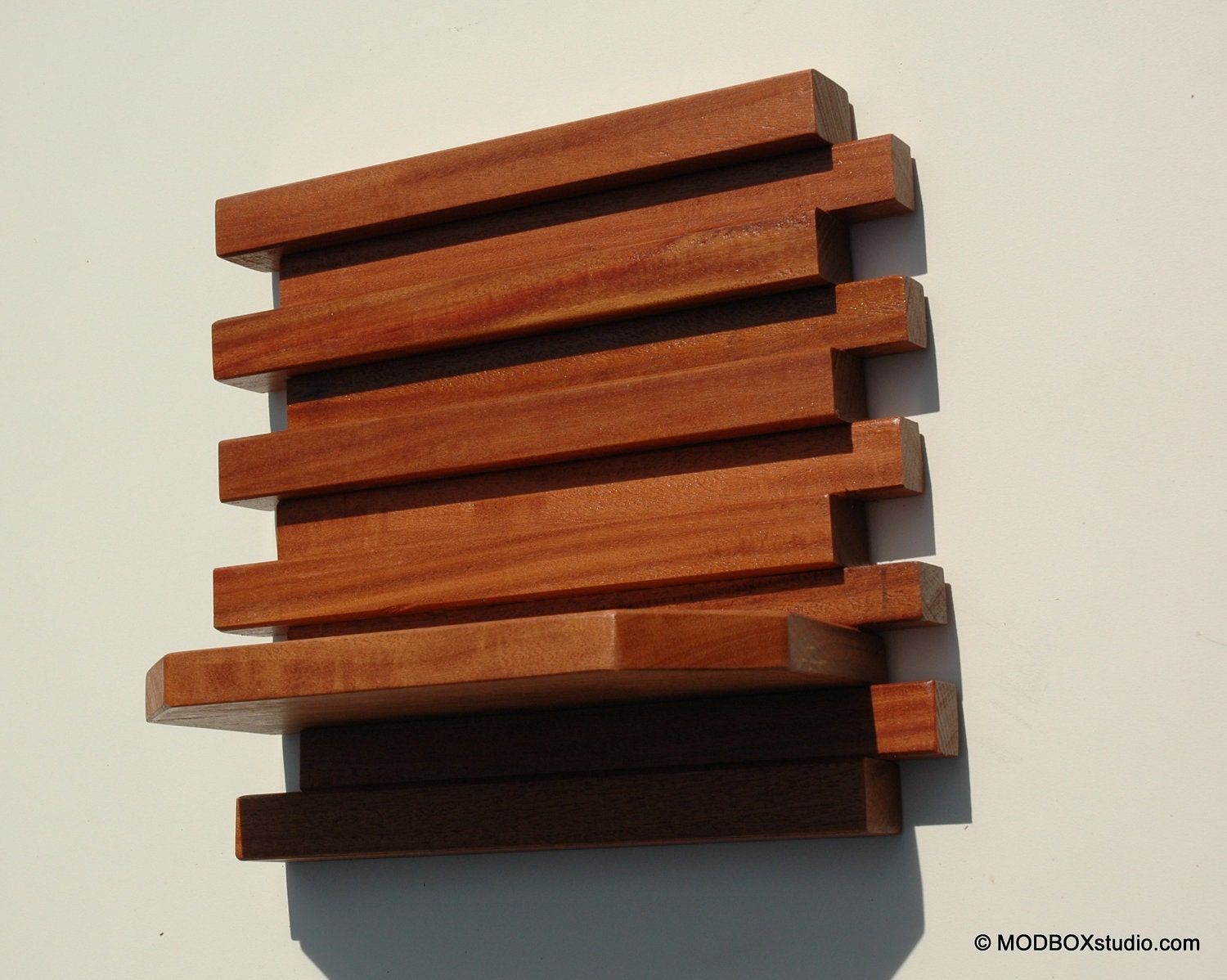 Modern Wood Wall Sconces : Wall Sconce Candle Holder Minimalist Modern Wood Wall Hanging