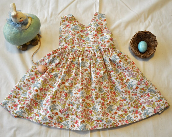 9 to 12 months size Liberty of London dress