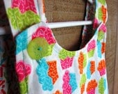 Bright Cupcakes Baby Pinafore Dress 6-12 Months or Toddler's Top