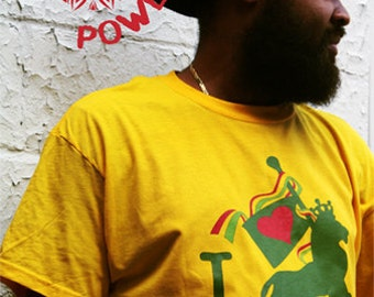 Jah Love Tee - Available in S, M, L and XL