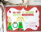 Personalized Kids Christmas Gift Tags - Set of 16