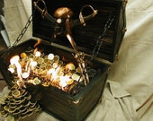 Flaming Pirates Treasure Chest