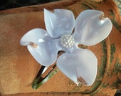 Recycled Plastic Dogwood Hair Clips (Set of 2) Wedding Brides