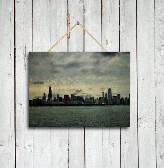 Chicago Wall Art the windy city 12x18 canvas wrap chicago wall art