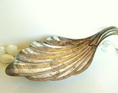 Vintage Silverplate Shell Dish - Eberle 1960's