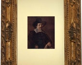 Vintage 1913 Art Print - A Man With a Glove In His Hand - Frans Hals - One Available - Wall Hanging - Frame NOT included
