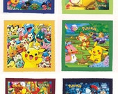 Pokemon anime CLOTH PATCH SET ( 6 patches )