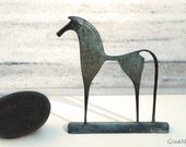 Greek Geometric Bronze Horse