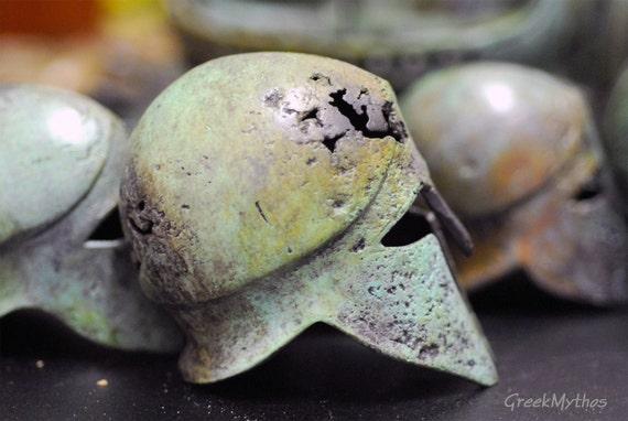 Helmet Bronze Greek Corinthian
