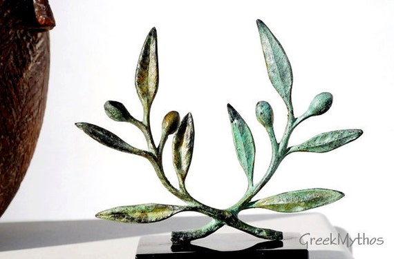 Bronze Olive Wreath