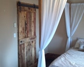 Sliding Barn Door and Complete Steel Track Kit