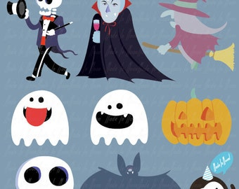 PROMOTION-Detailed Halloween Clip art 01