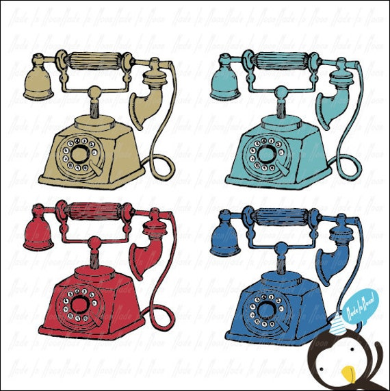vintage telephone clipart - photo #21