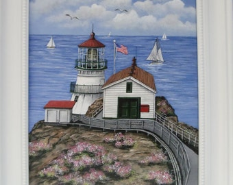 Point Reyes Lighthouse Painting