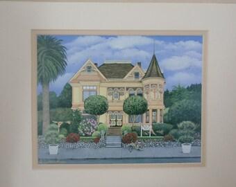 "The Gingerbread Mansion 8""x10"" Fine Art Print"