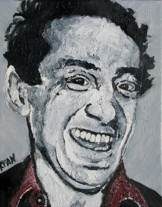 Harvey Milk 8X10 Original Oil Painting - 100% proceeds for charity