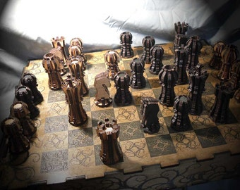 Lord Mock's Custom Chess Pieces