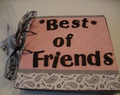 Best of Friends mini scrapbook album