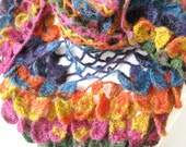Mothers day gift / Multicolor Butterfly Shawl