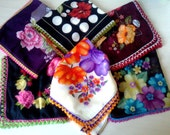 Mother's day gift / Turkish Traditional Oya / Lacework / Scarf