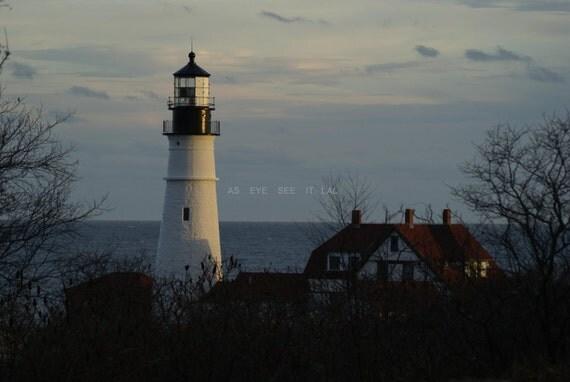 Portland Head Light,  Maine 5x7 photo greeting card