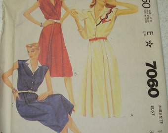 Vintage Sewing Pattern - McCall's 7060