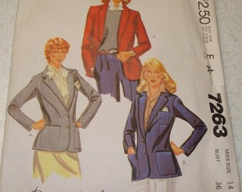 Vintage Sewing Pattern - McCall's 7263