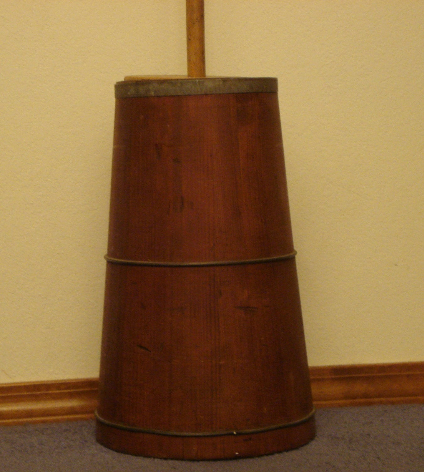 Vintage Wood Butter Churn