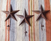 Vintage Hanging Star Candlestick Holders - Starlight In The Barn