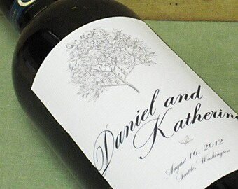CUSTOM WINE LABELS - Classic, Elegant, Sophisticated