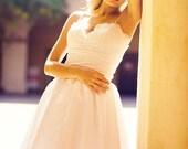 Ivanka - She's the one - Tea Length Wedding Dress