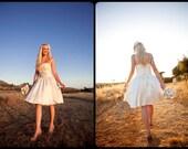 Savannah- Eco-friendly Wedding Dress Knee Length Wedding Dress, Repception Dress, Garden Wedding