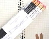 9 OUAT pencils RUSH