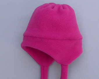 HELMET HAT by Baby Polar Gear - Warm winter Polartec 200 fleece  - Infant and Toddler size - Choose a color!
