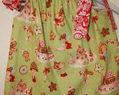 Pillow Case Dress - Swing Top Christmas Candy Land size 4 - 6 T