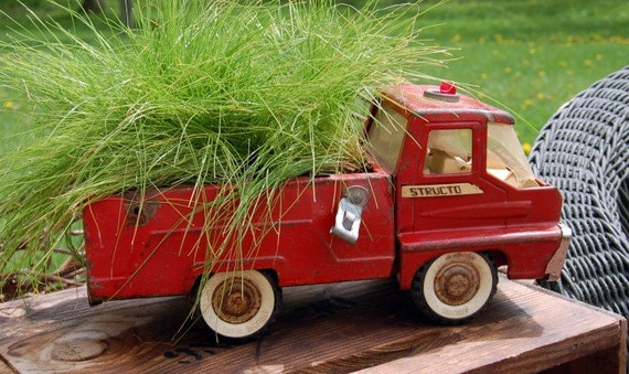 Vintage Little Red Truck