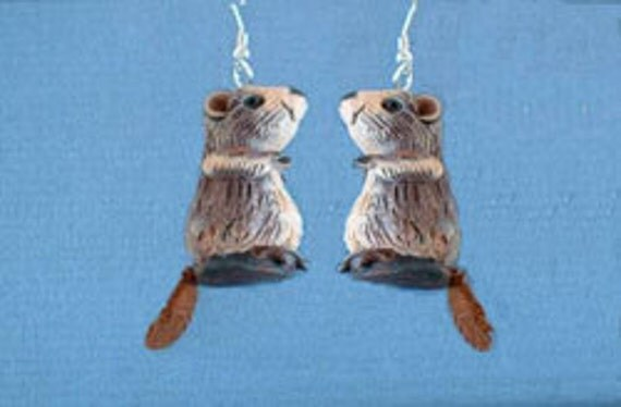 Items Similar To Groundhog Day Earrings On Etsy