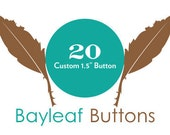 20 Custom Pins