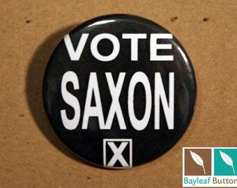 Vote Saxon - Whovian - The Master