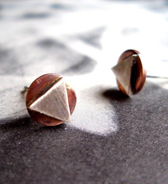 Copper Studs:  Menkaura Pyramid